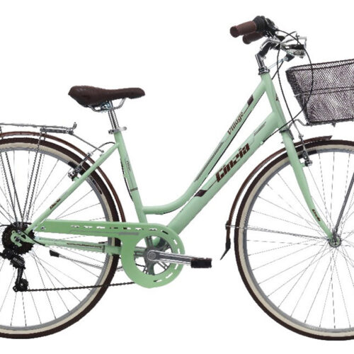 "CINZIA 28"" CTB VILLAGE LADY 6B V-BRAKE LIGHT MATT GREEN"